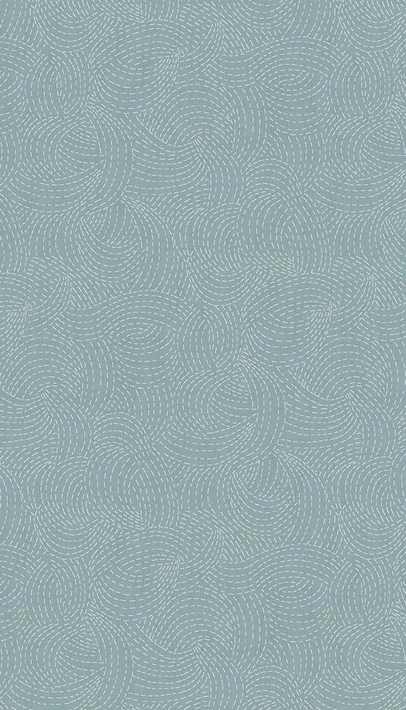 Indigo Sashiko - Light Blue