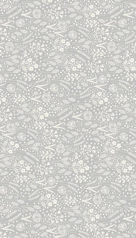 Fern Garden - Palm - Cream/Grey
