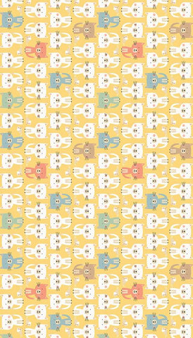 Tilda Happy Campers 5 x Fat Quarter Bundle - Blue