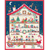 Advent Calendar - Santas Workshop - panel - Craftyangel