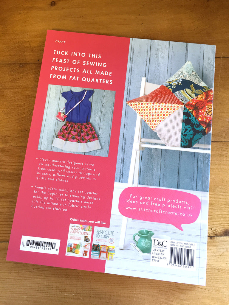 50 Fat Quarter Makes by Jo Avery & Elizabeth Betts - Craftyangel