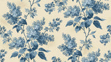 Blue Sky - Large Blossom Trail - Cream
