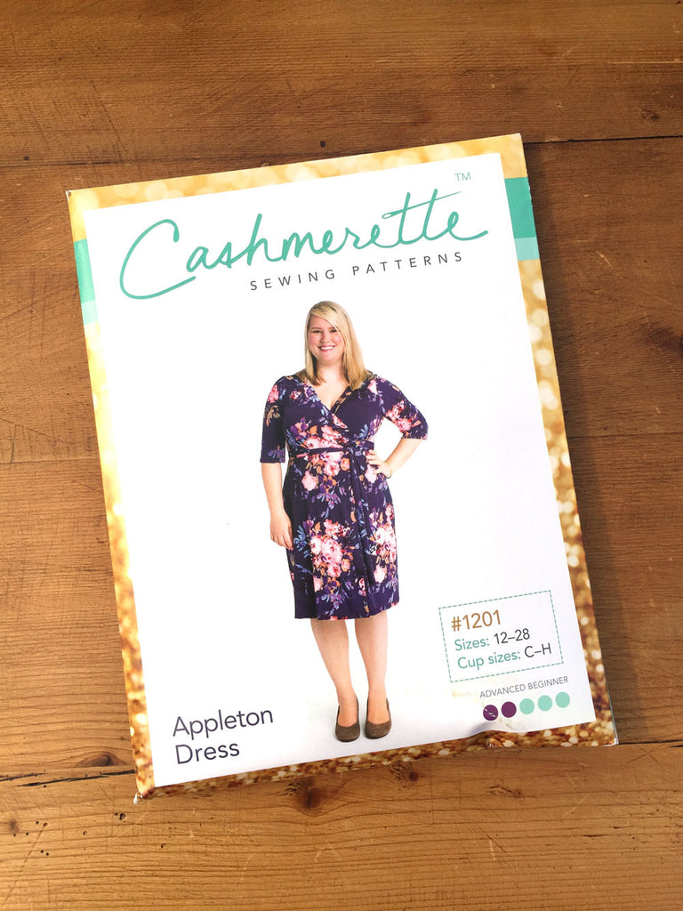 Cashmerette - Appleton Wrap Dress - Knit Fabric