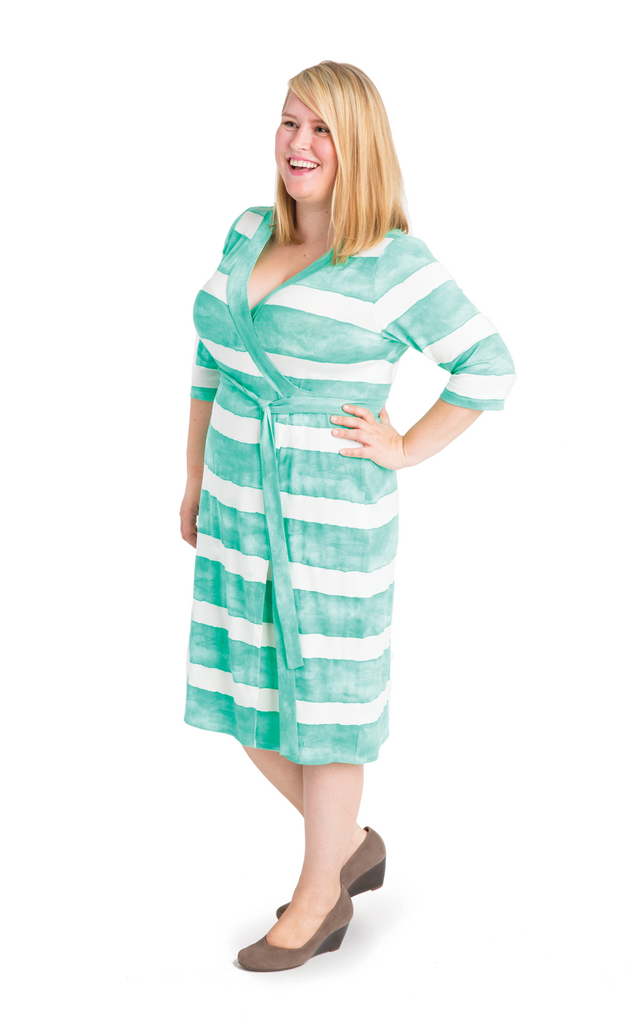 Cashmerette - Appleton Wrap Dress - Knit Fabric - Craftyangel