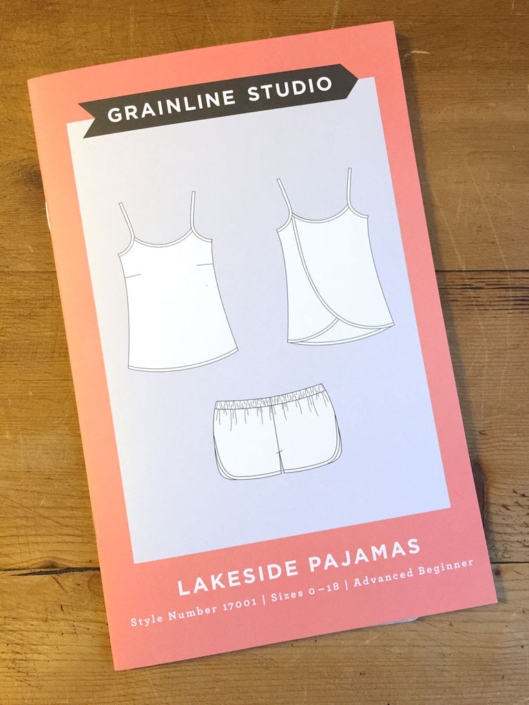 Grainline - Lakeside - Pyjamas - Craftyangel