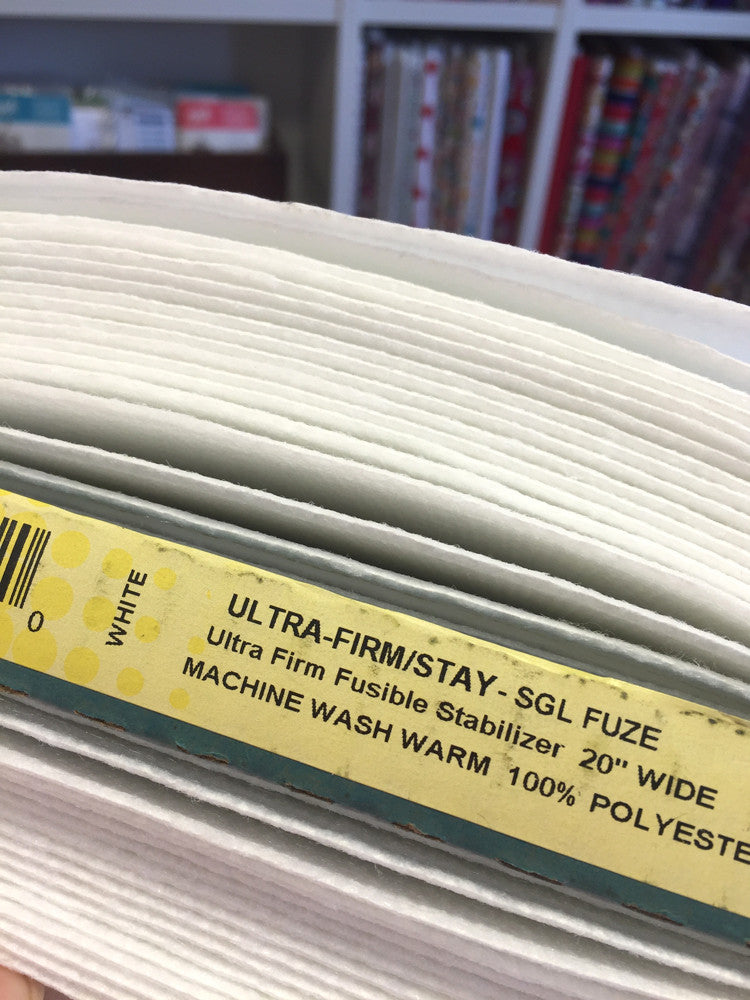 Legacy - Fuse 'n' Shape 71F Ultra Firm Interfacing - fusible one side - Craftyangel