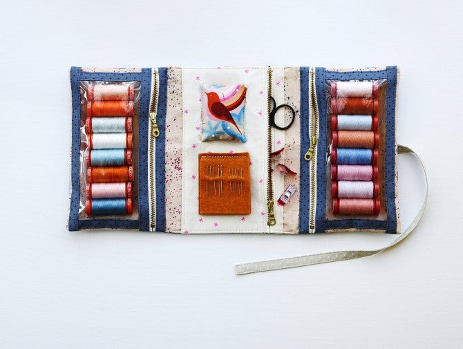 Make and Go Pouch by Aneela Hoey - Craftyangel