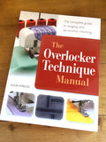 The Overlocker Technique Manual by Julia Hincks - Craftyangel