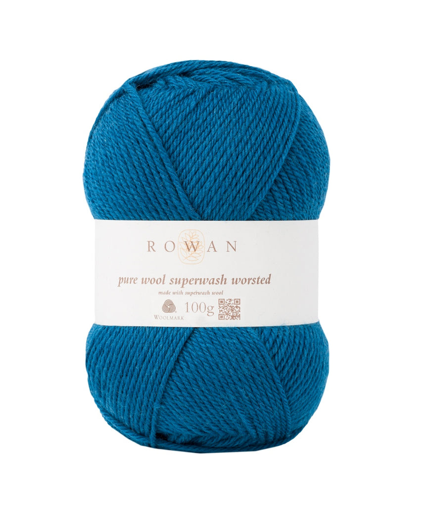 Rowan Pure Wool Worsted - Mallard (144)