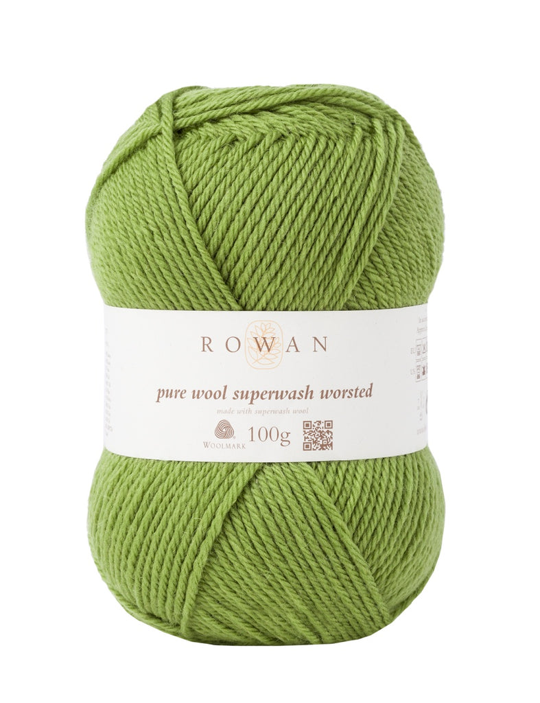 Rowan Pure Wool Worsted - Olive (125)