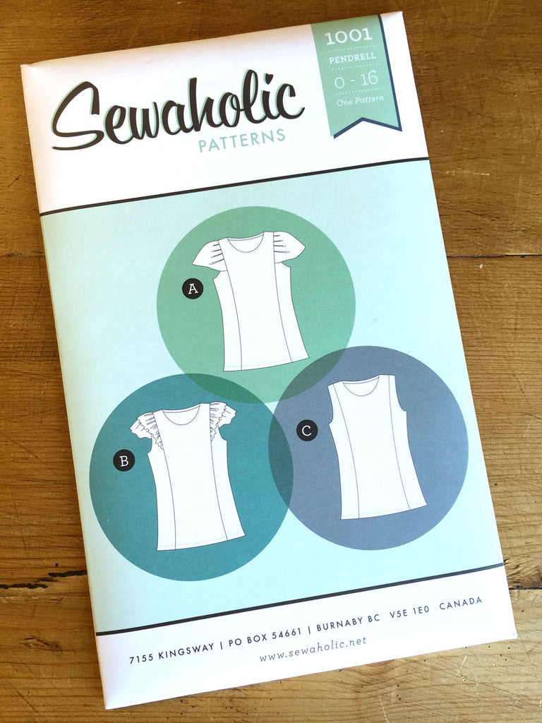 Sewaholic Patterns - Pendrell - Top