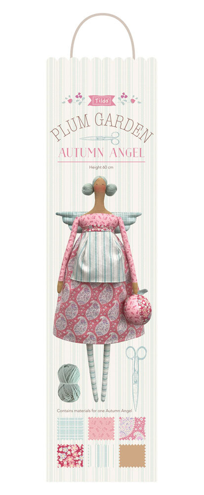 Tilda Autumn Angel - Doll kit - Plum Garden - Craftyangel