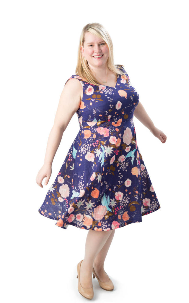 Cashmerette - Upton Dress - Craftyangel
