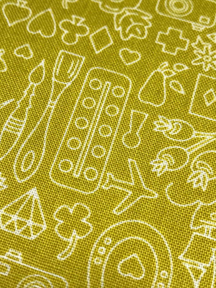 Sun Prints 2019 - Chartreuse - Yellow/Green - Craftyangel