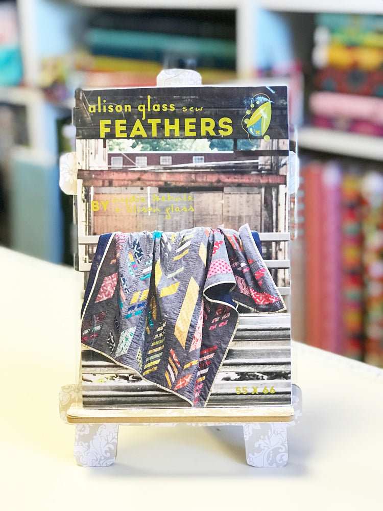 Alison Glass - Feathers quilt pattern - Craftyangel