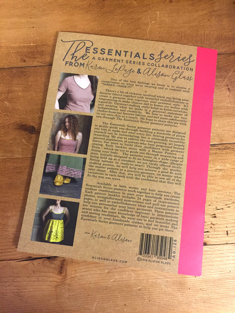 Alison Glass Knit Essentials - build a wardrobe - Craftyangel