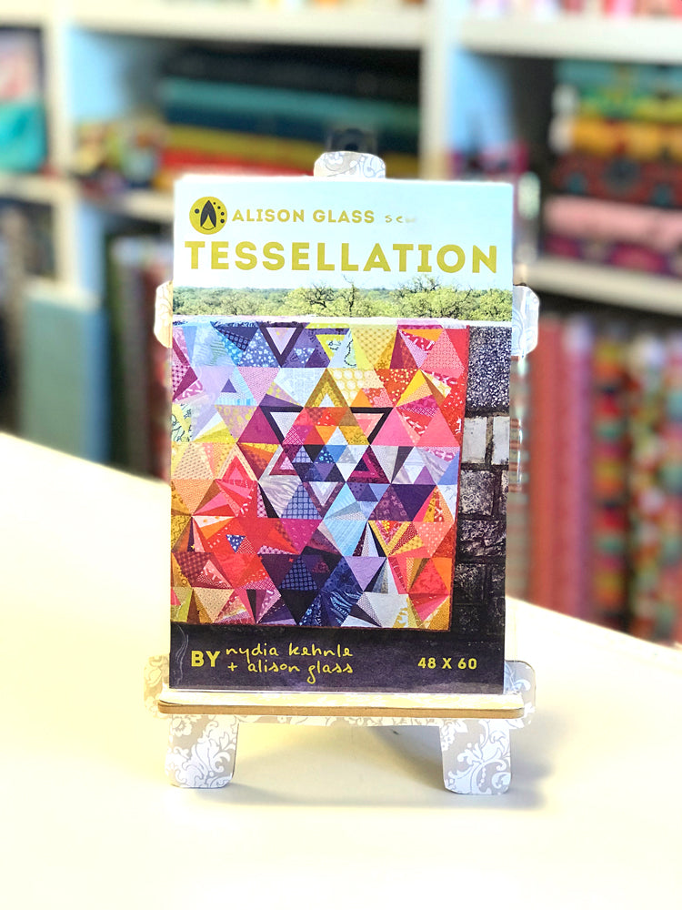Alison Glass - Tessellation quilt pattern - Craftyangel