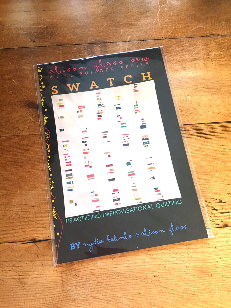 Alison Glass - Swatch quilt pattern - Craftyangel
