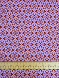 Amy Butler - Dreamweaver - Cross Print - Violet - Craftyangel