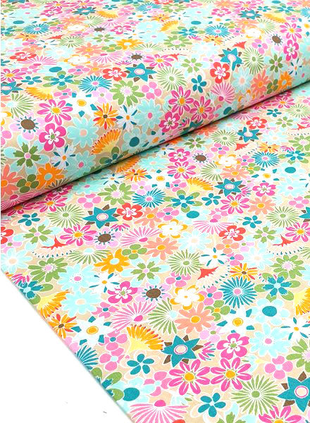 Art Gallery - Flowers All Around - Rayon - Craftyangel
