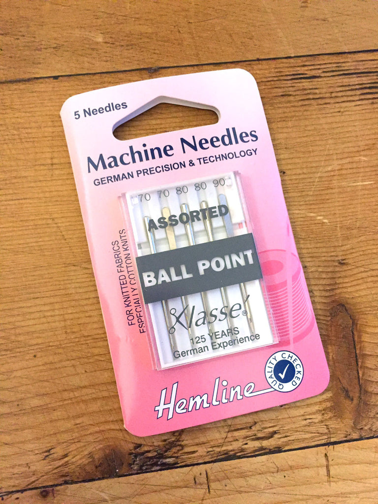 Sewing machine needles - Ballpoint