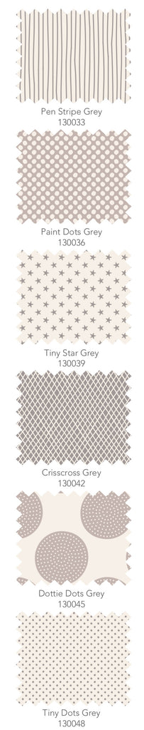 Tilda Classic Basics 6 x Fat Quarter Bundle - Soft Grey