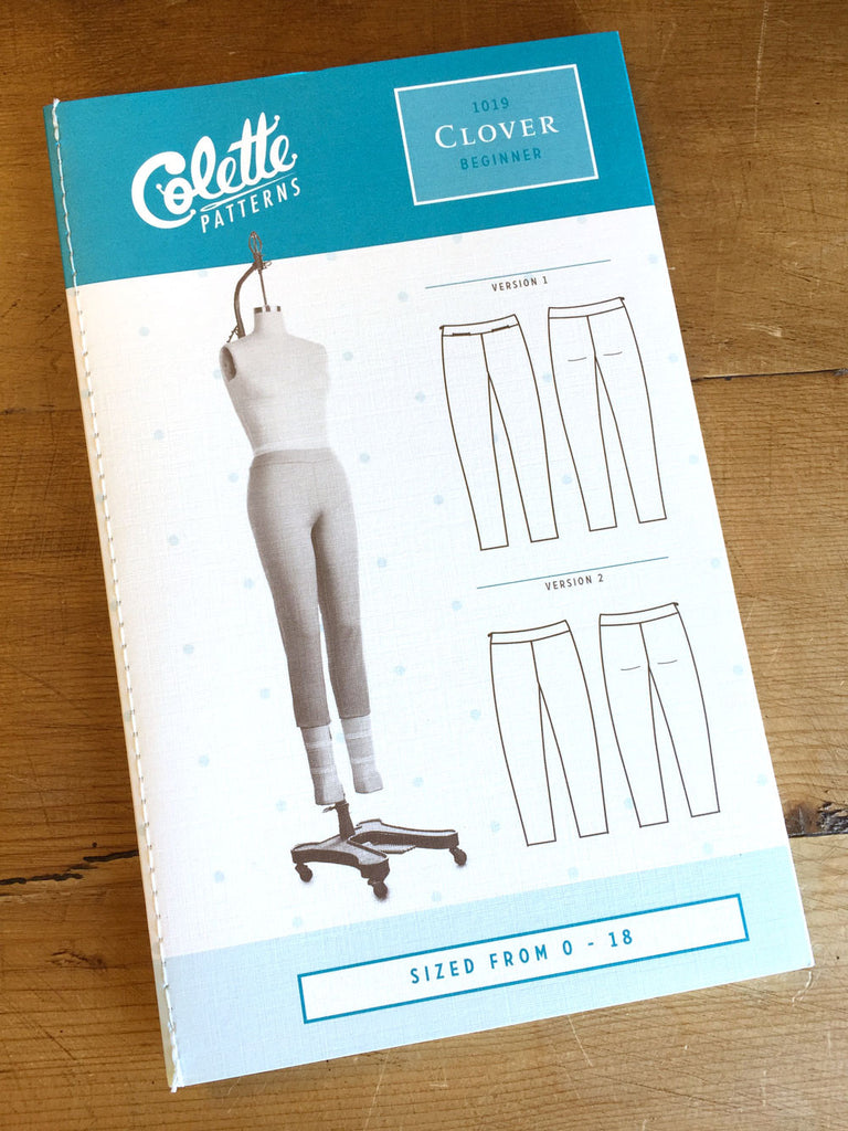 Colette Patterns - Clover - Pants - Craftyangel