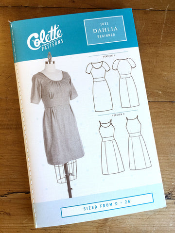 Tilly And The Buttons - Cleo Dungaree Dress