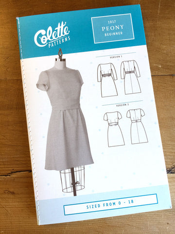 Colette Patterns - Moneta - Dress