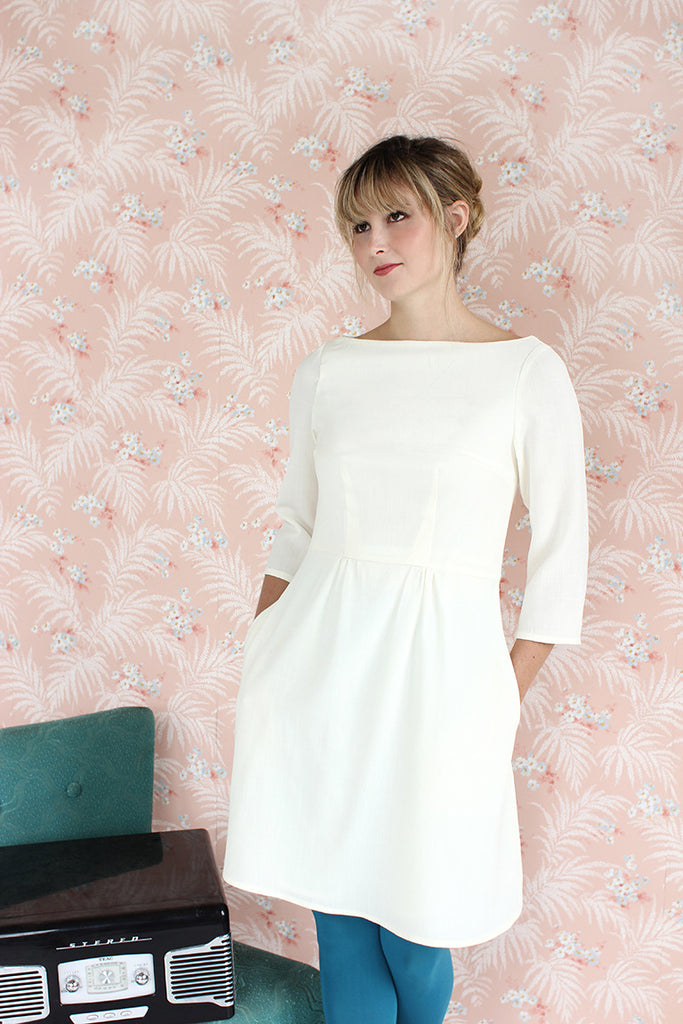 Colette Patterns - Peony - Dress - Craftyangel