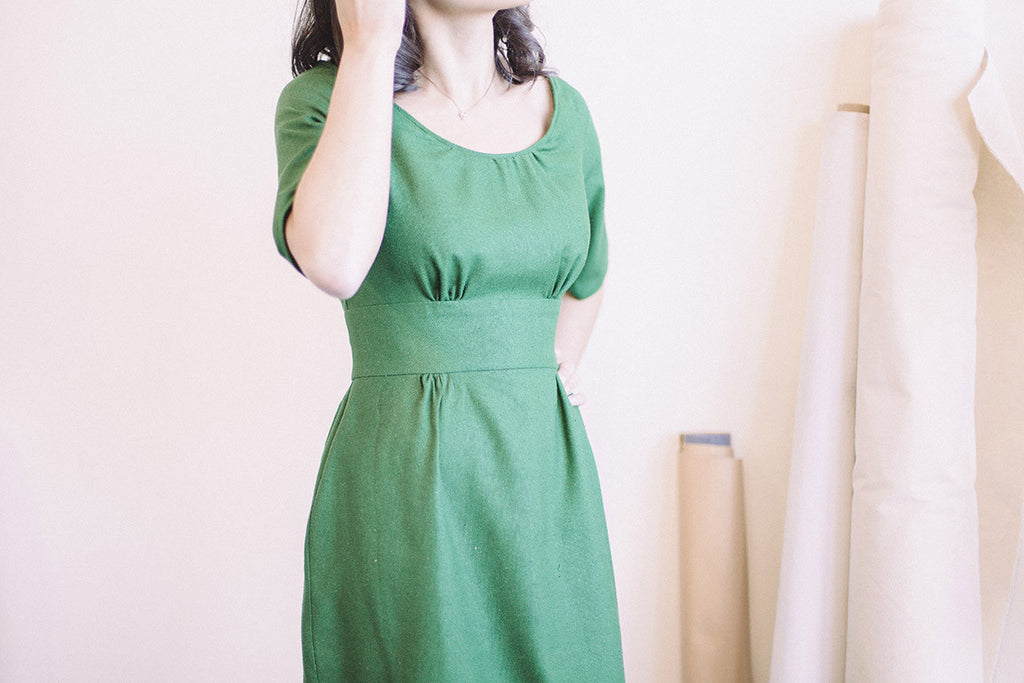 Colette Patterns - Dahlia - Dress - Craftyangel