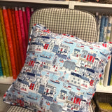 SOLD OUT - Button back piped cushion workshop - [Sun 2nd April 11.00-4.00pm] - Craftyangel