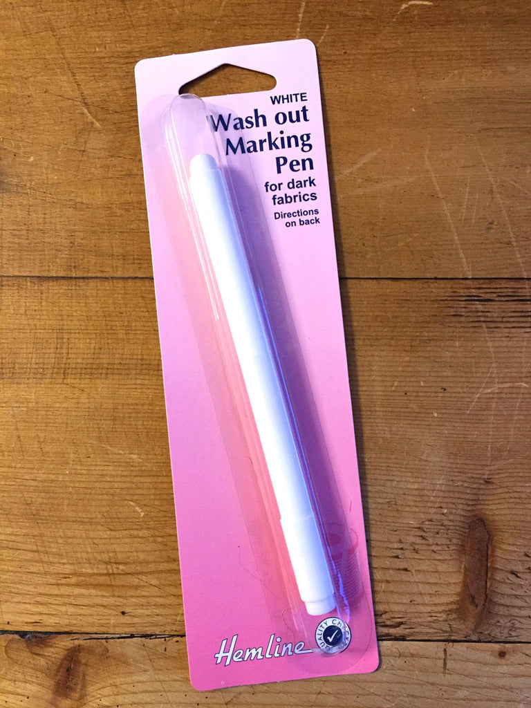 Fabric Marking Pen - Wash out for dark fabric