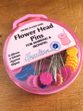 Flower Head Pins - Pack of 60 - Craftyangel
