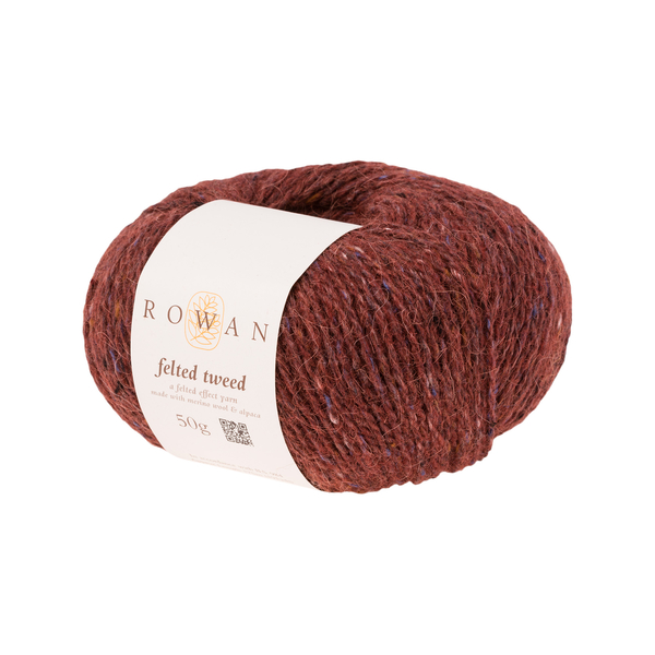 Rowan Felted Tweed - Barn Red (196) - Craftyangel