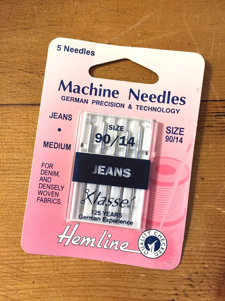 Sewing machine needles - Jeans