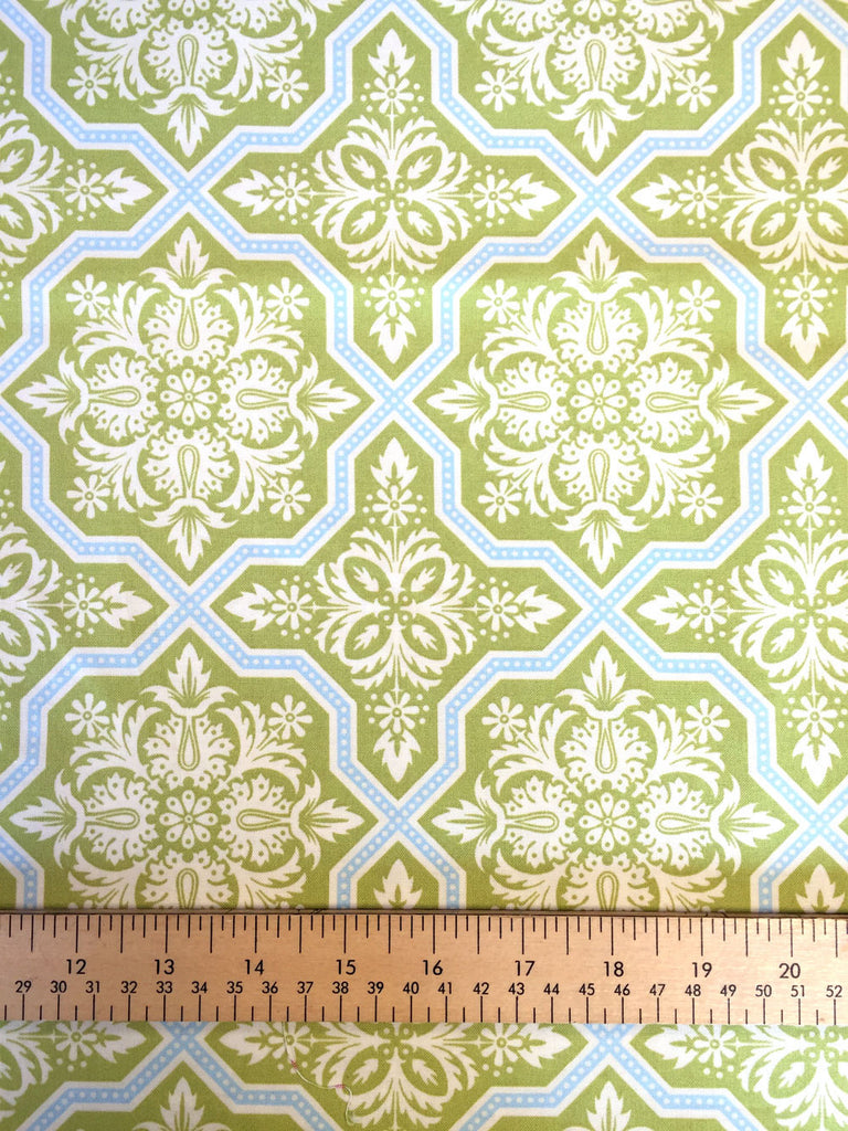 Joel Dewberry - Heirloom - Tile Flourish - Green