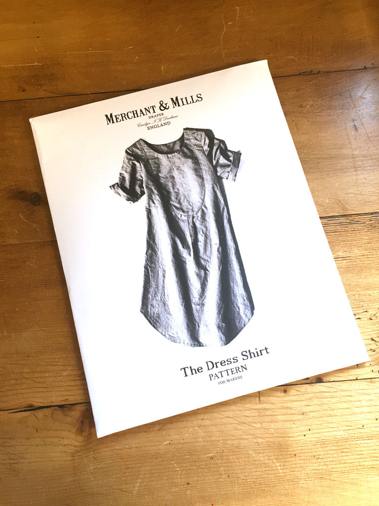 Merchant and Mills - Dress Shirt - Dress - Craftyangel