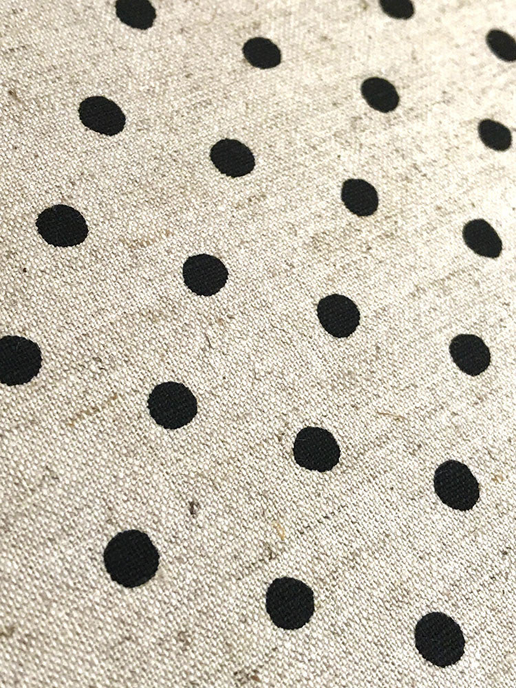 Sevenberry - Linen - Natural with black Spot