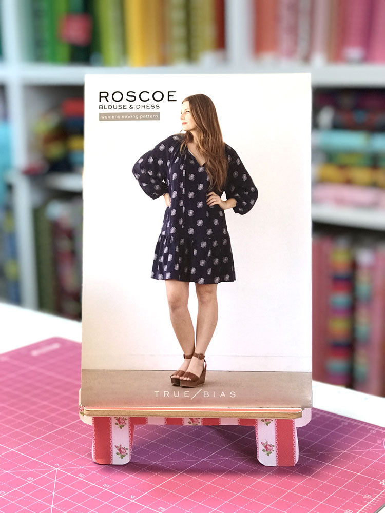 True Bias Patterns - Roscoe Blouse and Dress - Craftyangel