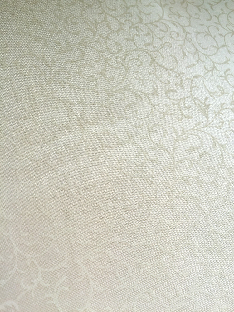 Cream Scroll on Cream - Essentials - Craftyangel