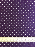 Sevenberry - Linen - Purple Spot