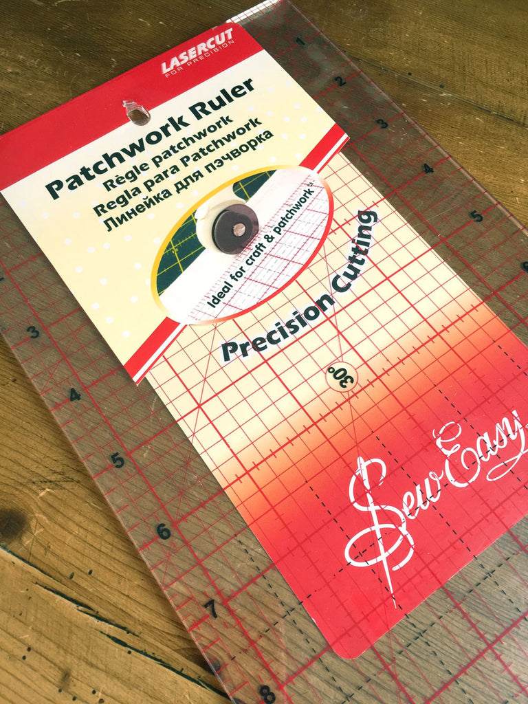 "Sew Easy Patchwork Ruler - 6.5"" x 24"" (16.5cm x 61cm)"