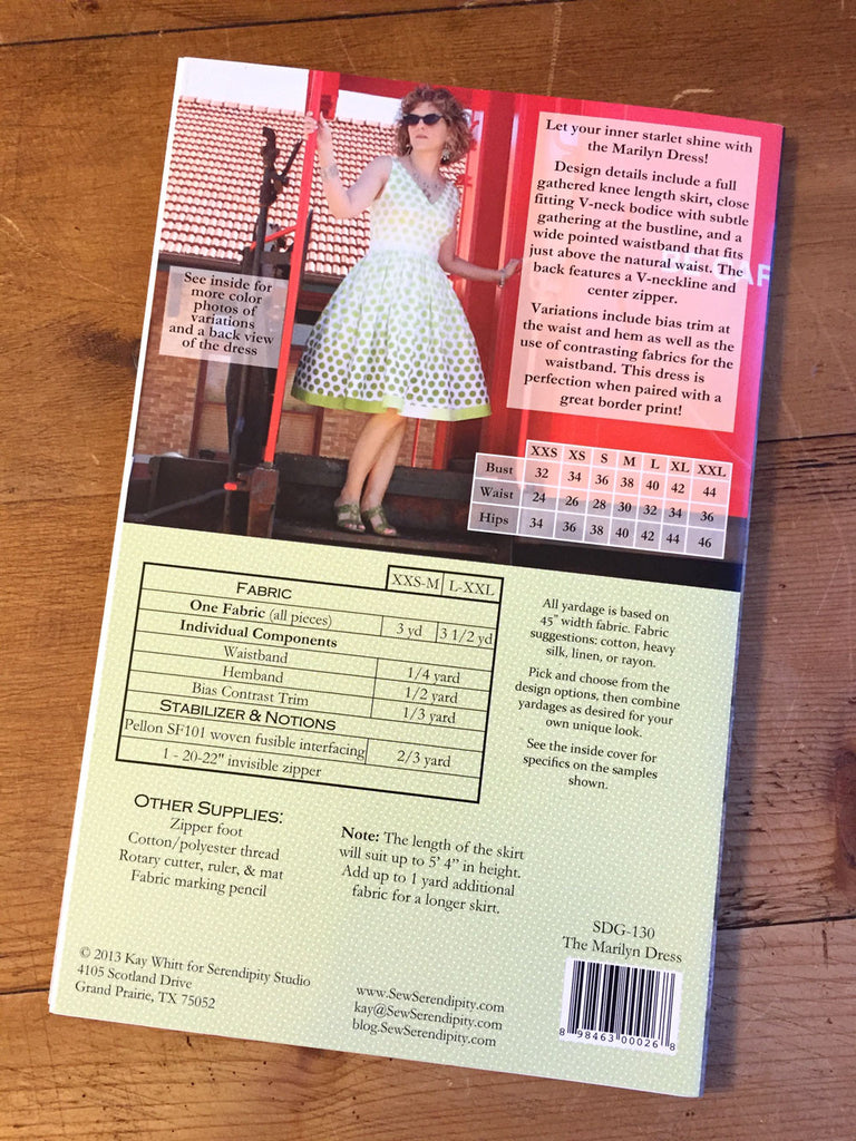 Sew Serendipity - Marilyn - dress - Craftyangel