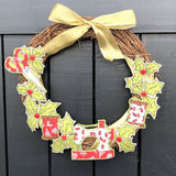 [SOLD OUT] Xmas Sewing Wreath - Free Motion Embroidery workshop - with Sam Molloy [Sun 15th Dec 10am-1pm] - Craftyangel