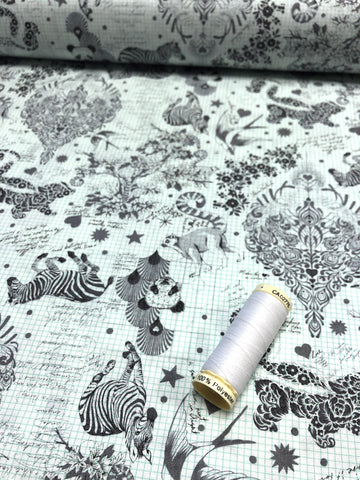 Atelier Brunette - Diamond Smokey Fabric