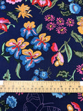 Nordic Garden Dream - Stauder - Blue (Floral with butterflies) - Craftyangel