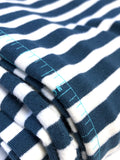 Striped Alike Blue - Knit