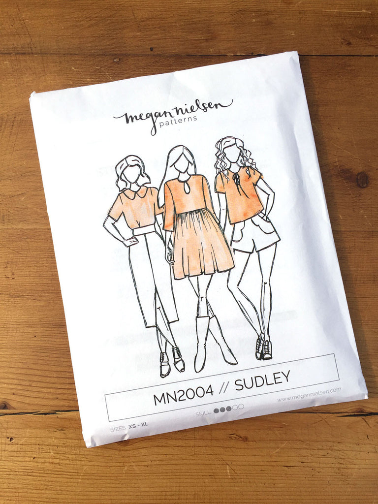 Megan Nielsen Patterns - Sudley - Top/Dress - Craftyangel