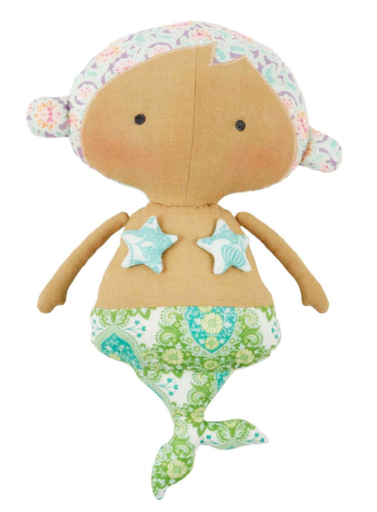 Tilda Sweet Mermaid - Doll sewing kit- Sunkiss - Craftyangel